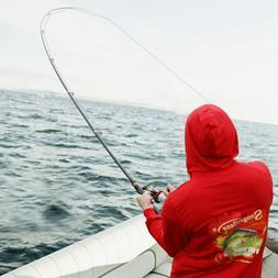 Portable Carbon Fiber Ultralight Travel Telescopic Fishing R