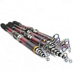 Portable High Carbon Fiber Telescopic Fishing Rod Sea Fishin
