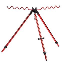 Lixada Portable Telescopic Adjustable Fishing Rods Tripod St