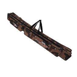 Sougayilang Portable Waterproof Double-layer Camo Fishing Ro