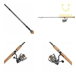 pressp president spinning combo fishing reel rod