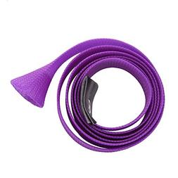 Purple 170cm Skin Fishing Rod Sock Cover Pole Braided Cable