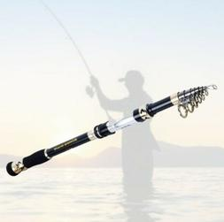 Quality Light Telescopic Fishing Rod Saltwater Boat Stick Er