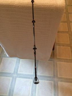 rampage jigging spinning rod 6 6 gimbal