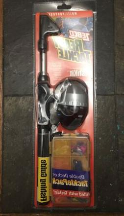 Zebco Ready Tackle Series TELESCOPING FISHKIT SPINNING ROD P