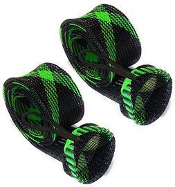 Reaction Tackle Rod Sock Black/Green
