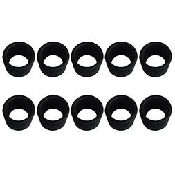 MagiDeal 10 Pieces Rubber 1.5mm Wall 2'' Rod Holder Insert P