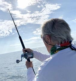 Saltwater  Offshore Spinning Rod 7' 1PC 20-40 LB Saltwater F
