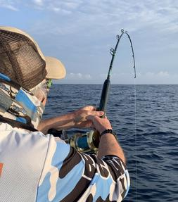 Saltwater Offshore Spinning Rod 7' 1PC 20-50LB Saltwater Fis