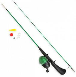 Wakeman Spawn Series Kids Spincast Combo and Tackle Set in G