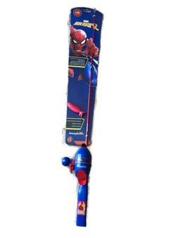 Shakespeare Spiderman ~ Fishing Pole Kit ~ New ~ Free Shippi