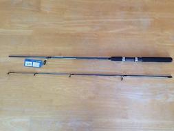 "Shimano 5' 6"" Spinning Medium Action Fast Green Fishing Rod"