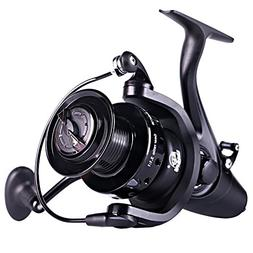 Sougayilang Spinning Fishing Reel,12+1BB Metal Body Smooth,