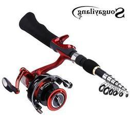 Sougayilang Spinning Fishing Rod with BD2000 Reel Set Olta 1