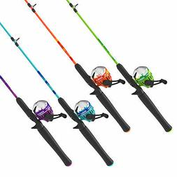 Zebco Splash Spincast Fishing Rod and Reel Combo Bright Colo