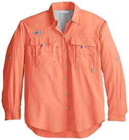 Columbia Sportswear Men's Bahama II Long Sleeve Shirt, Brigh