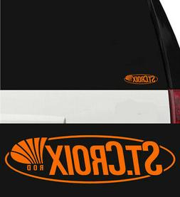St. Croix Fishing Rods Hunting/Outdoor Sports Vinyl Decal St