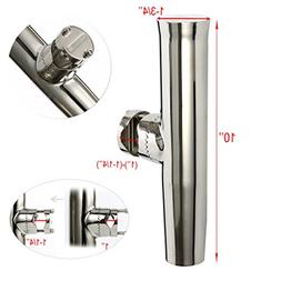 "12pcs STAINLESS STEEL CLAMP ON ROD HOLDER FOR RAIL1"" -1-1/4"""