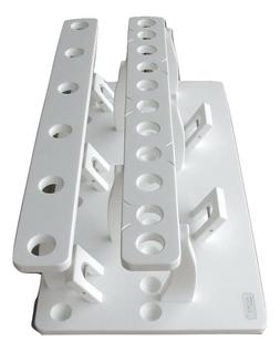 Storage Rod Rack Holds 17 R&R Plus a 5 Curved Butt Rod Holde