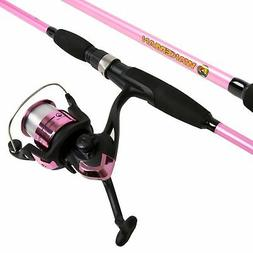Wakeman Strike Series Spinning Rod and Reel Combo - Silver M