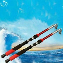 Strong Carbon Fiber Telescopic Fishing Rod Reel Sea Travel S