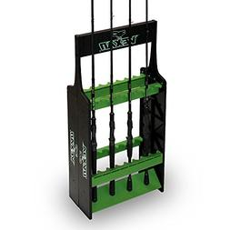 Vexan Super 16 Fishing Rod Rack - Perfect for Bass, Walleye,