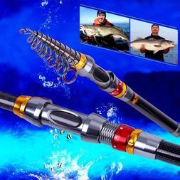 Sougayilang Super Hard Fishing Rod Portable Telescopic Carbo