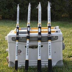Fishing Rods Carbon Saltwater Telescopic Super Hard Ultra Li