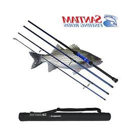 Santiam Fishing Rods Travel Rod 4 Piece 10' 12-25lb Surf Rod