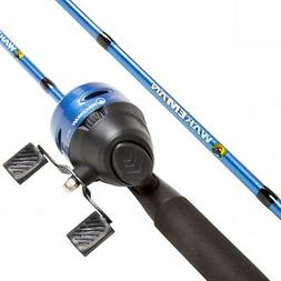 Wakeman Swarm Series Spincast Rod And Reel Combo Ponds lakes