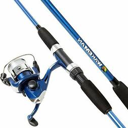 Wakeman Swarm Series Spinning Rod And Reel Combo Blue Metall