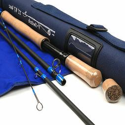 Switch 7WT Fly Fishing Rod SK Carbon Medium Action 11FT 4 Se