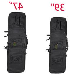 """Tactical 39"""" 47"""" Case Bag Padded Fishing Rod One/Two Carbine"""
