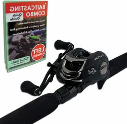 Tailored Tackle (Left Handed Bass Fishing Rod Reel Baitcasti