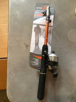 South Bend Telescopic Fishing Rod & Zebco 33 Spincast Reel C