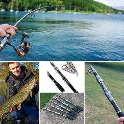 Sougayilang Telescopic Fishing Rod  for Travel Saltwater Fre