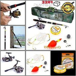 Fishing Rod Case Spinning Reel Combo Tackle Lure Tip Reel Co