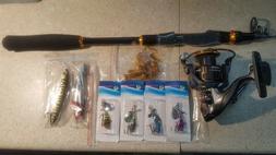 SOUGAYILANG TELESCOPIC FISHING ROD, SPINNING REEL & LURES CO