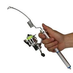 Telescopic Pocket Ice Fishing Rod Set Travel Spinning Pole M