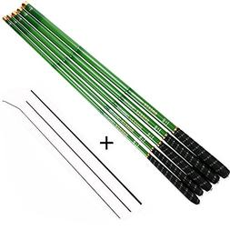 Goture 1 Piece Hard Carp Fishing Pole, Carbon Fiber Ultralig