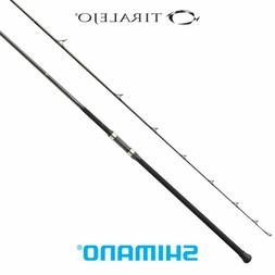 "Shimano Tiralejo 2-Piece Surf Spinning Fishing Rod, 11'0""ft,"