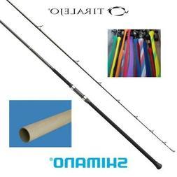 "Shimano Tiralejo 2-PieceSurf Spinning Fishing Rod, 12'0""ft,"