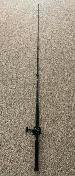 Shimano TLD 5 Reel and Shimano TLD 70 7' Medium Rod 12-25lb