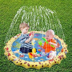 BIG OCEAN Outdoor Kids Toys Sprinkler For Kids Sprinkle And