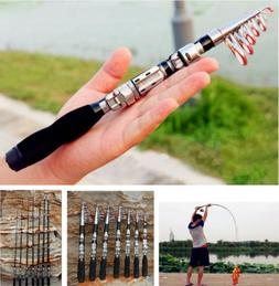 Travel Sea Fishing Rod Carbon Fiber Telescopic Pocket Travel