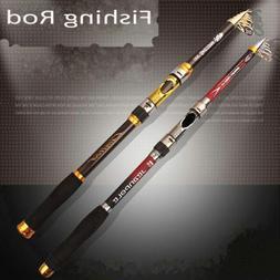 Travel Spinning Pole Rods Carbon Fiber Telescope Fishing Rod