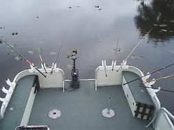 "Katydid Triple Bay Box ""Spider"" Fishing Rod Holders for Pont"