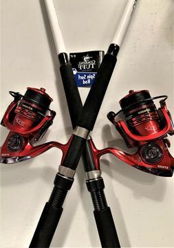 Two Coastal Tuff 8' Rod & XF6000  Reel  Combos