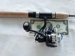 SOUTH BEND ULTRA LIGHT ROD AND REEL COMBO