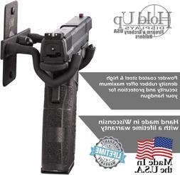 Handgun Hanger Wall Mount Pistol, Revolver, Fishing Rod Hold